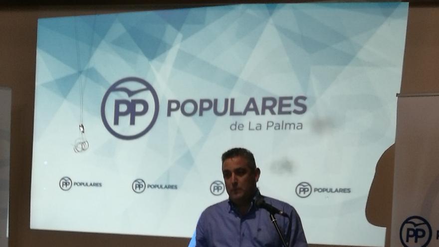 José Ángel Sánchez, presidente del PP en Garafía.