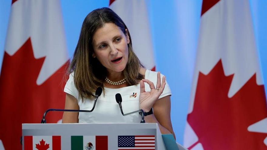 Canadá, EE.UU. y México inician mañana la tercera ronda negociadora del TLCAN