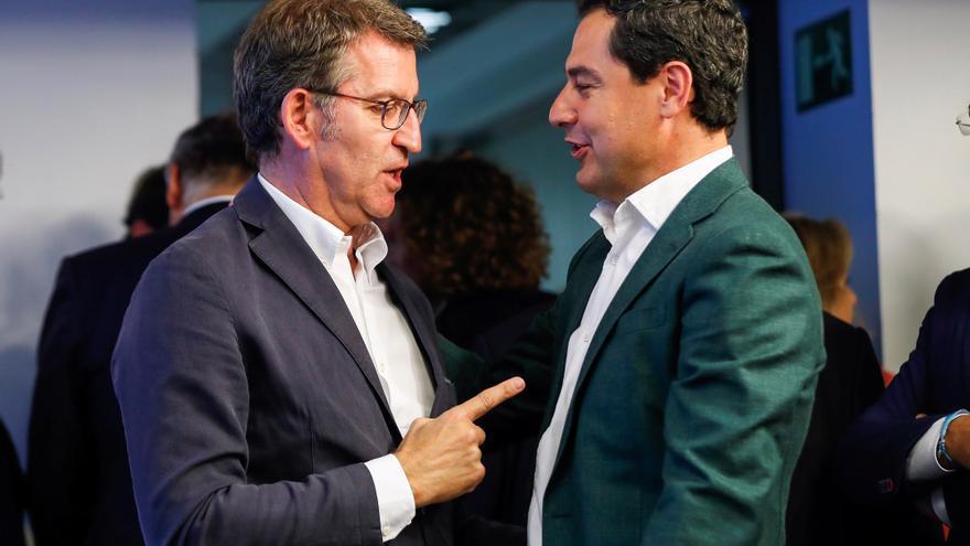 Moreno y Feijóo se reunirán la próxima semana en Sevilla por la financiación