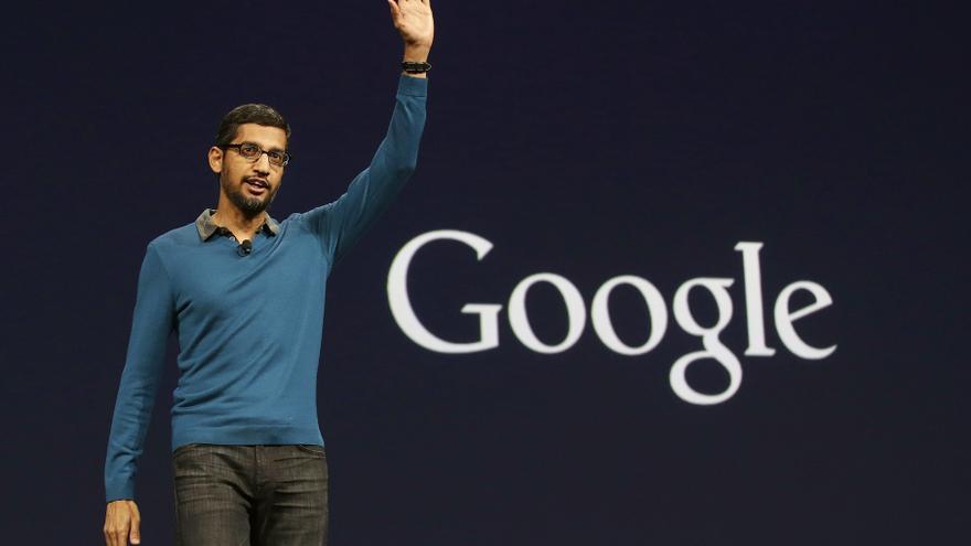 Sundar Pichai, director ejecutivo de Google, en una imagen de archivo.