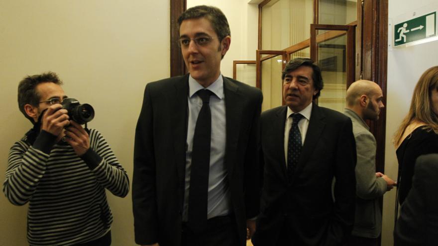"""Madina ve """"muy bien"""" que Rajoy reciba a González pero le afea que no haga lo mismo con Rubalcaba"""