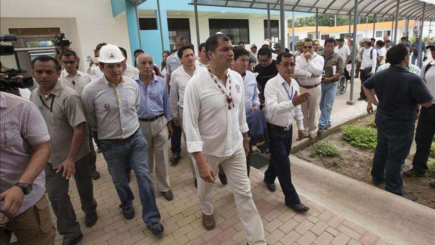 Correa dice que en octubre o noviembre de 2016 se sabrá si es candidato a la reelección