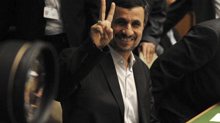 """Ahmadineyad arremete en la ONU contra """"los sionistas incivilizados"""" de Israel"""