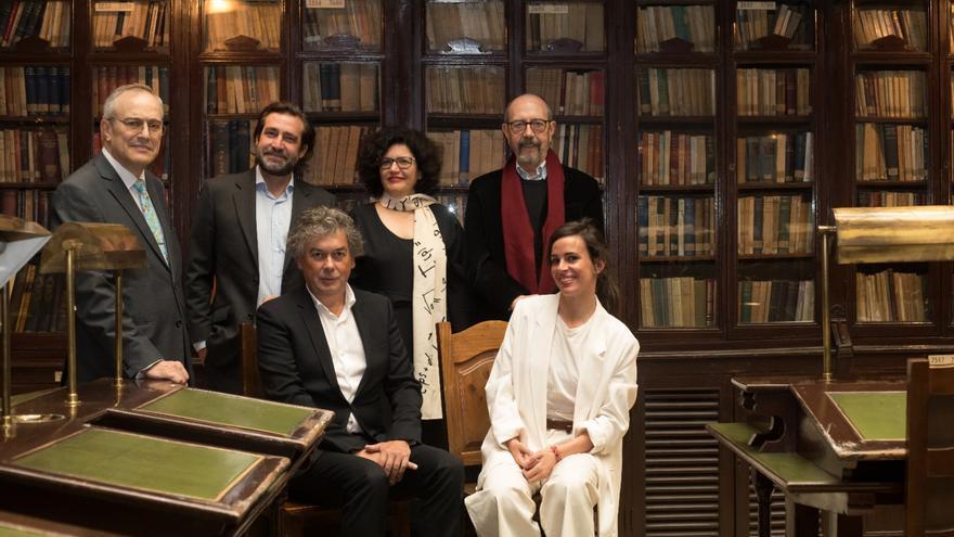 Candidatura Grupo 1820 a las elecciones a Junta Directiva del Ateneo de Madrid.
