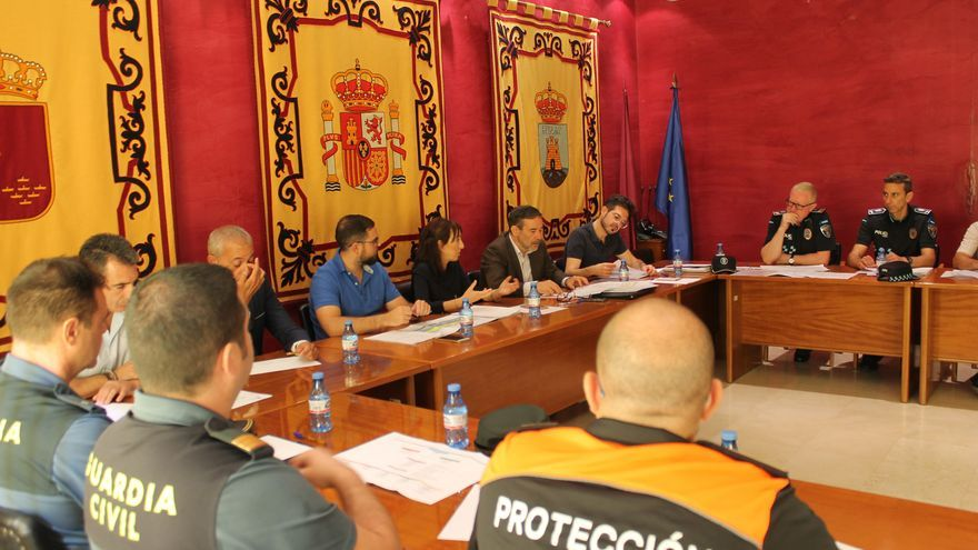 Se reúne la Junta Local de Seguridad de Bullas