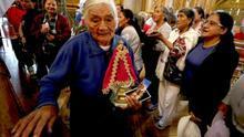 La ecuatoriana Virgen del Quinche irradia una devoción que llegó al Vaticano