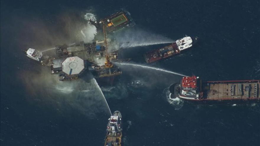 Un muerto por una explosión en una plataforma petrolífera del Golfo de México