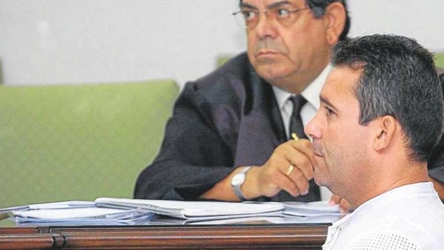 Juan Francisco Mejías González, durante el juicio en el que fue condenado por asesinar a su pareja