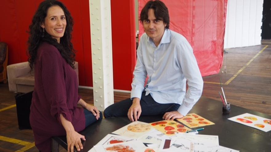 Alejandra Zúñiga y Manuel Bruscas
