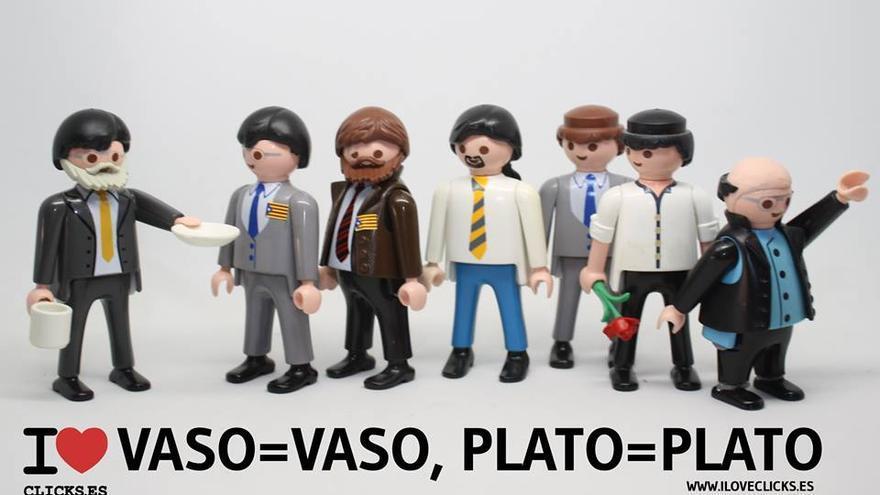 I love vaso=vaso plato=plato