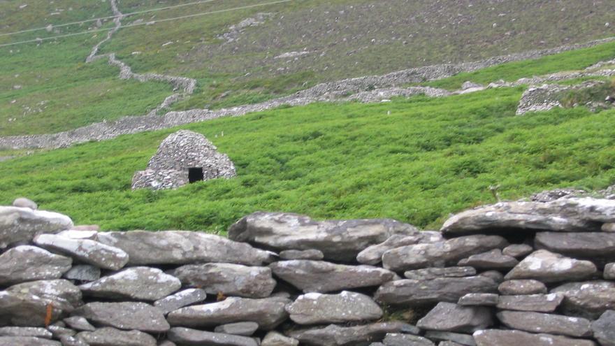 Casa Colmena en la Península Dingle. Aquí se concentran más de 2.000 yacimientos arqueológicos. Barry CaruthSeguir