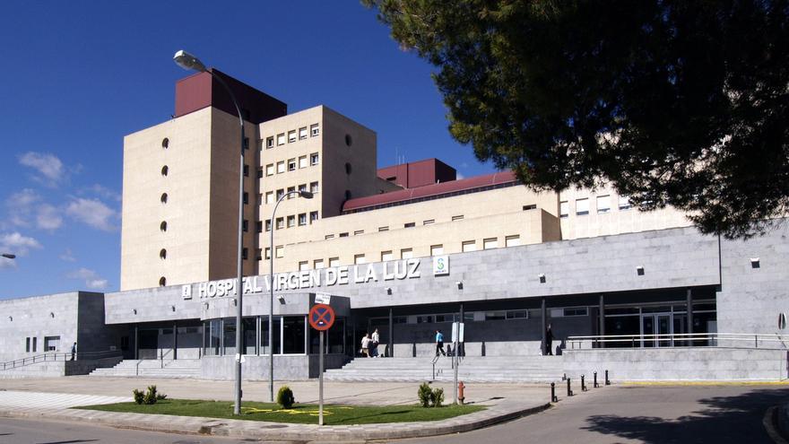 Fachada del Hospital Virgen de la Luz en Cuenca