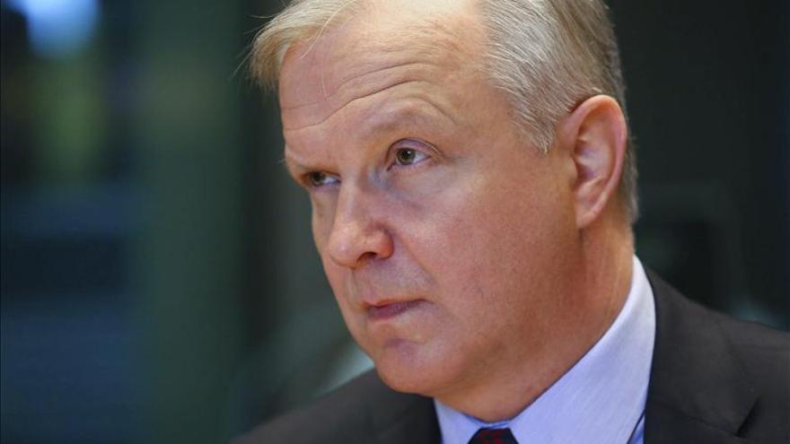 Rehn aboga por la reunificación de Chipre, que daría un impulso a su economía