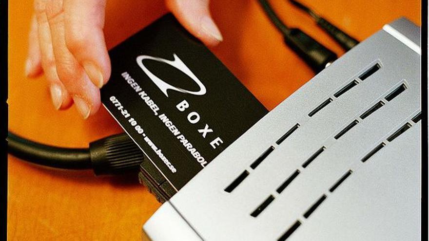 Set-top box de televisión digital. (Foto: Johan Olsson)