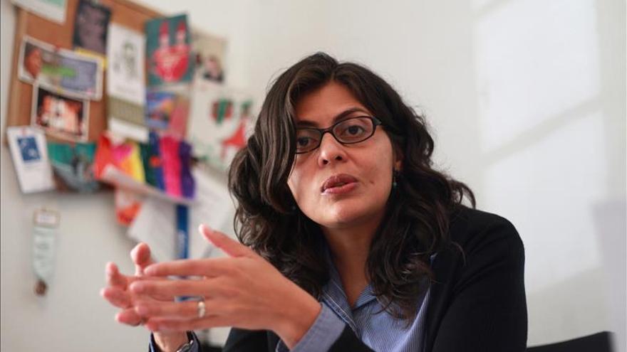 La activista mexicana Ancheita recibe el premio de derechos humanos Martin Ennals