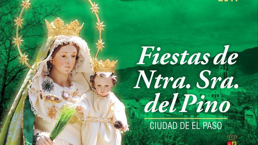 Cartel de las fiestas Nuestra Señora de El Pino 2017 de El Paso.