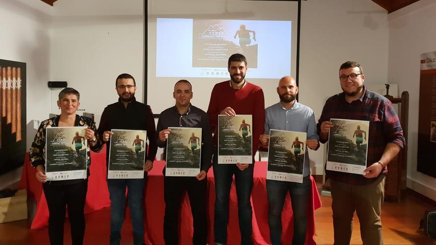Acto de presentación de la III Copa Naviera Armas.