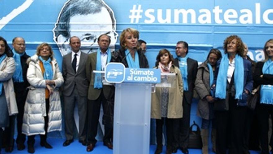 Presidenta De La Comunidad Y Del PP De Madrid, Esperanza Aguirre
