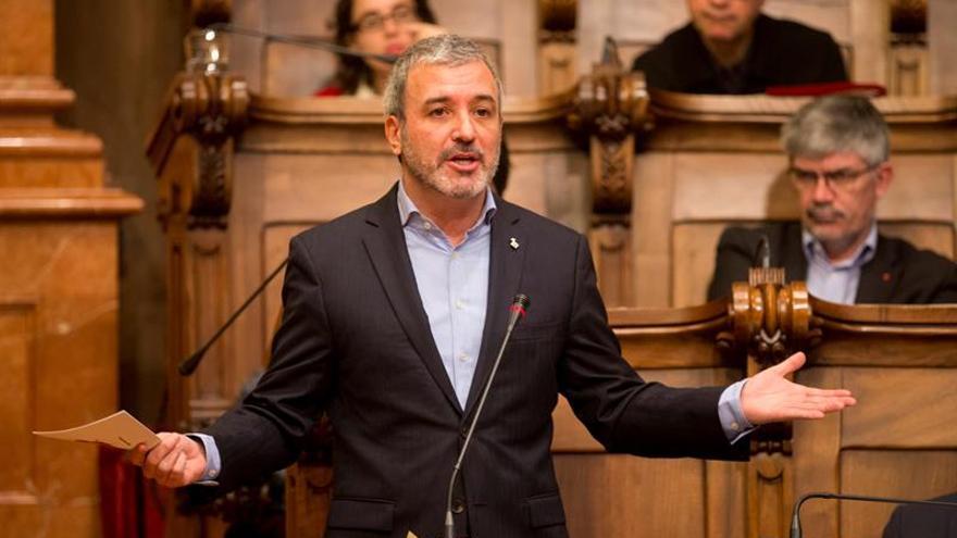 Jaume Collboni, en el plenario de Barcleona