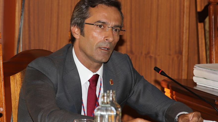 El expresidente del Cabildo de Lanzarote Pedro San Ginés.