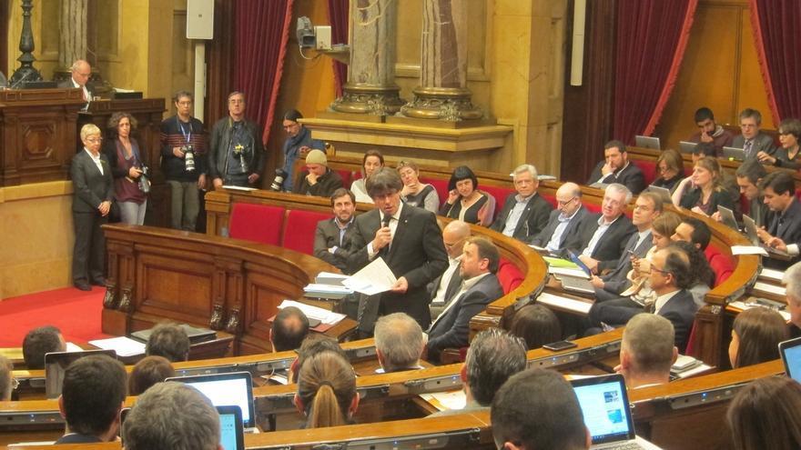 Puigdemont avala que el Parlament cree ponencias soberanistas pese al informe de los letrados
