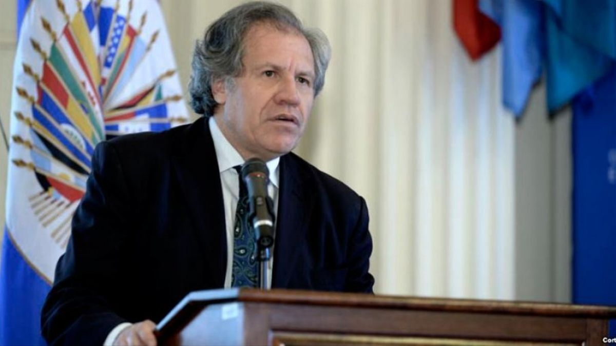 Luis Almagro, secretario general de la OEA.