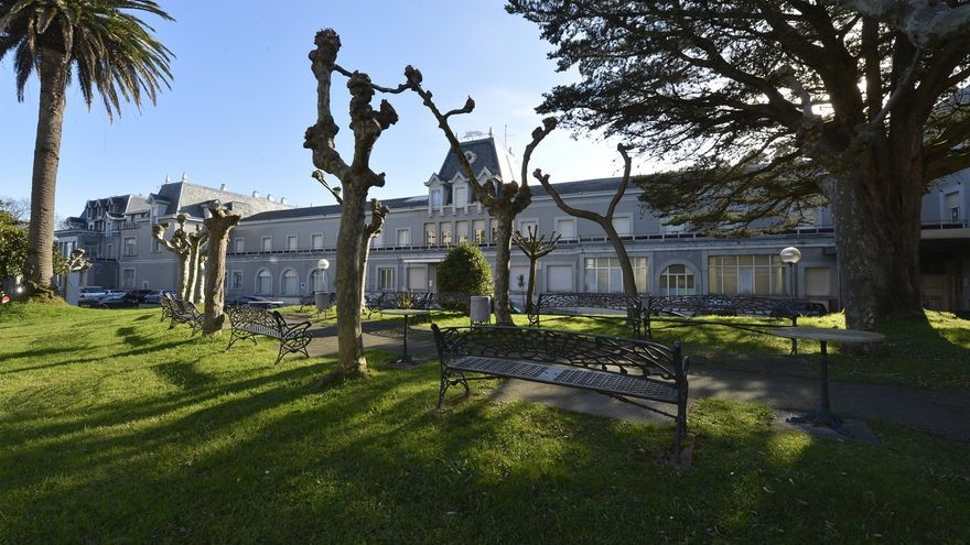 Hospital de Santa Clotilde, en Santander.