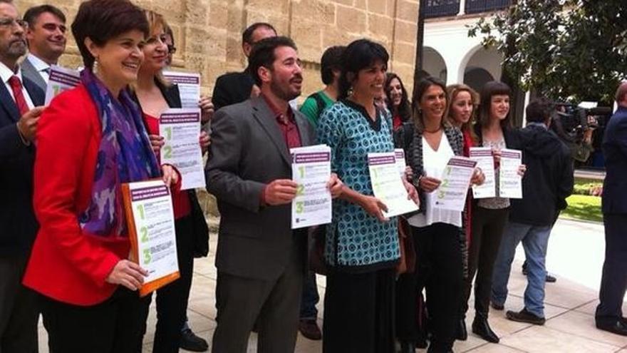 Diputados de Podemos en Andalucía.