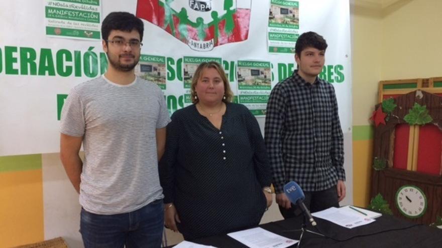 Padres y estudiantes en Cantabria se suman a la huelga del 26 de octubre contra las reválidas