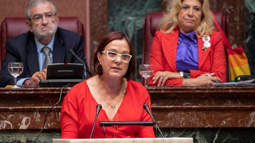 La portavoz del grupo parlamentario de Ciudadanos en la Asamblea Regional de Murcia, Isabel Franco