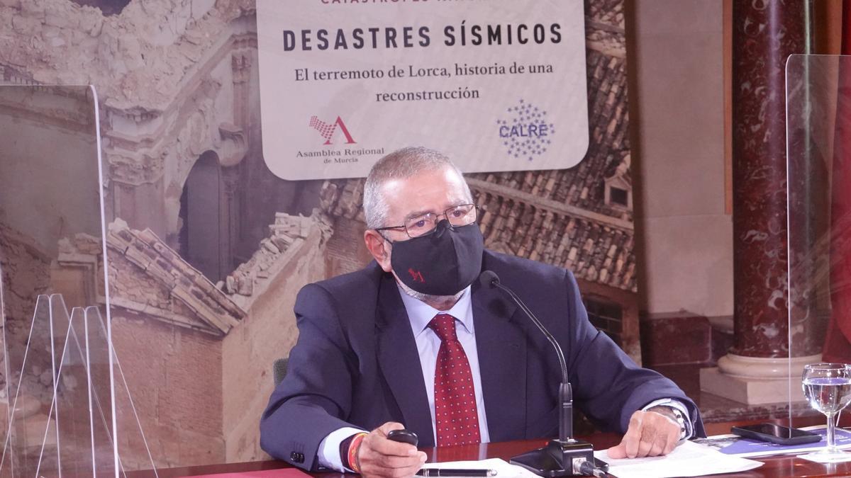 Archivo - Imagen de Alberto Castillo, durante la jornada