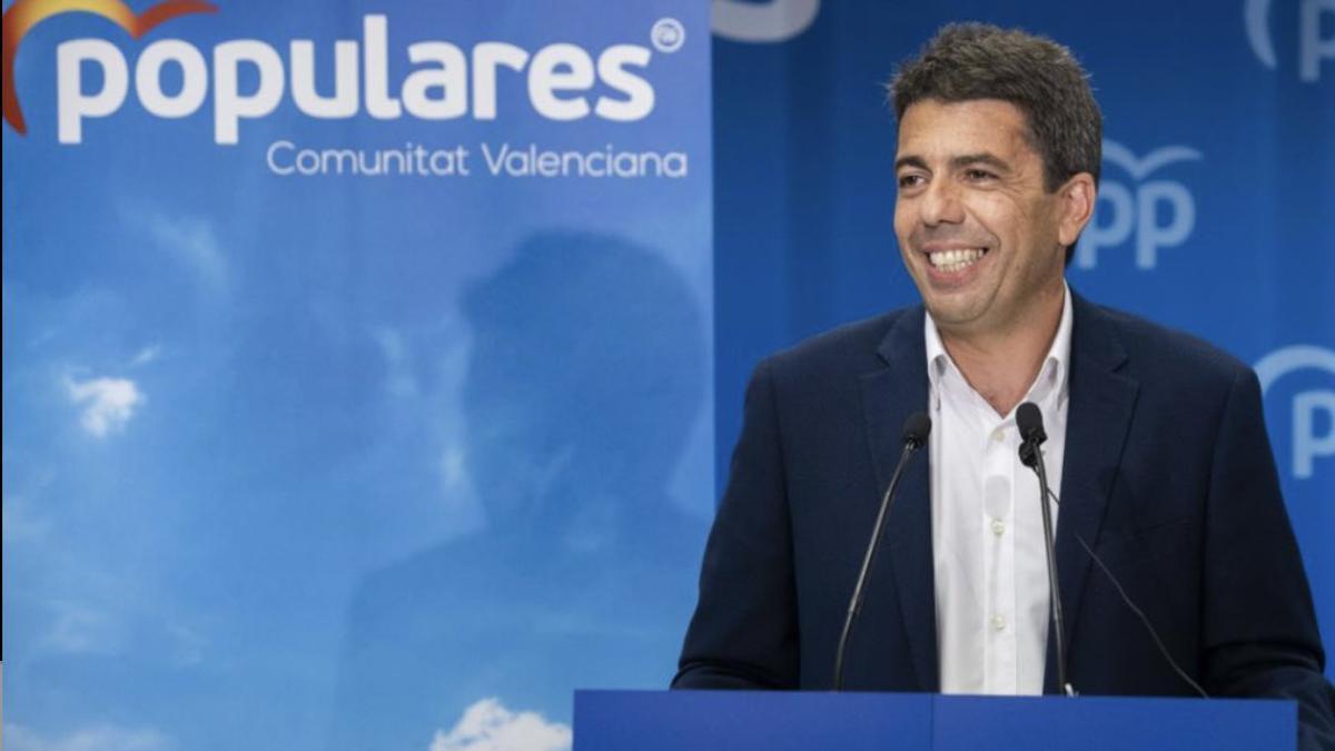 El president de la Diputació d'Alacant, Carlos Mazón.
