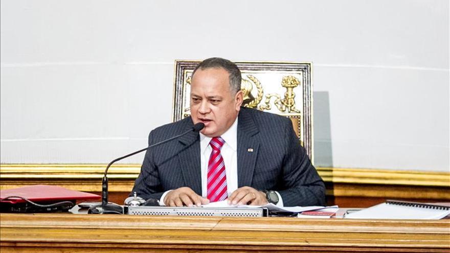 """Cabello dice que si el chavismo no gana elecciones habrá """"conflicto de poderes"""""""