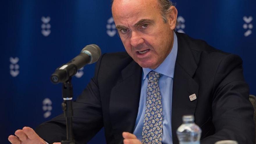 """De Guindos revela que se barajó un rescate """"light"""" del FMI a finales de 2012"""