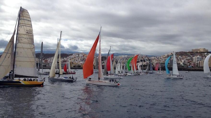 Salida de la regata ARC 2013 desde Las Palmas de Gran Canaria. EFE