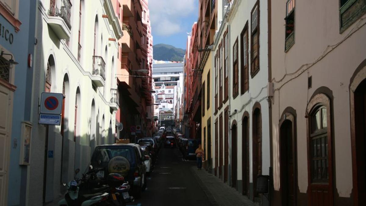 Imagen de archivo Calle Díaz Pimienta, en Santa Cruz de La Palma.