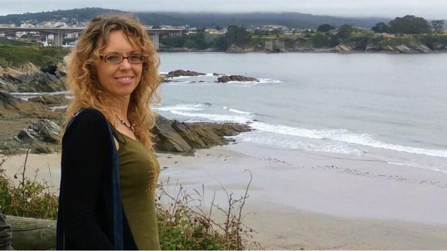 Eva estuvo trabajando en Londres como profesora interina en un centro español