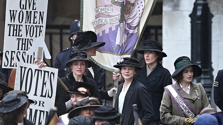 Sufragistas, la batalla esencial de las mujeres que ha sido ignorada en los Oscar
