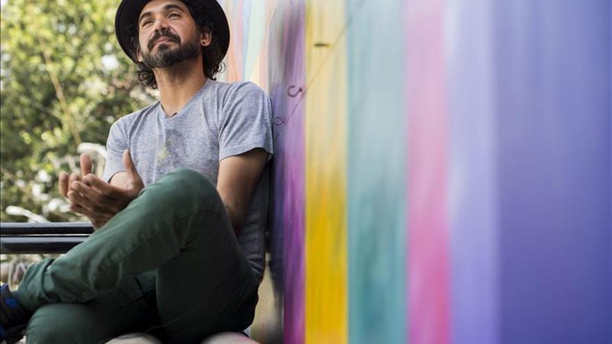 El grafitero Kobra defiende el arte callejero como escape para los jóvenes de barriadas