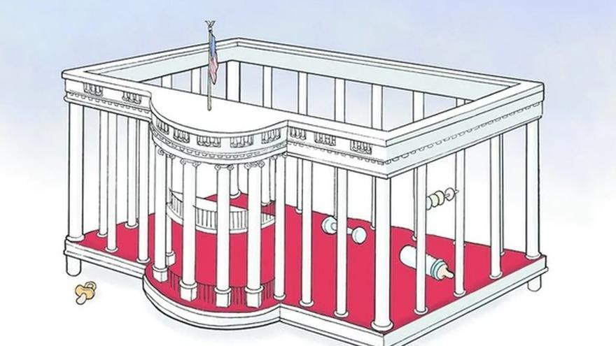 Ilustración de Steve Breen para el San Diego Union Tribune