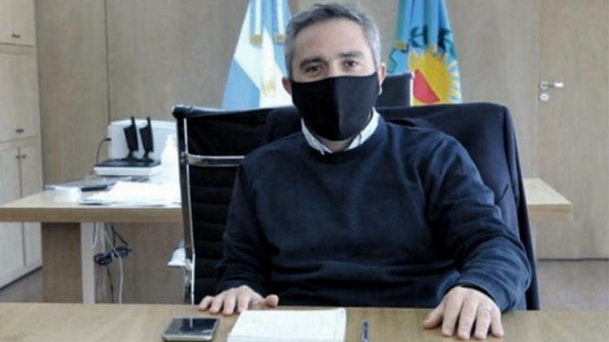 Andrés Larroque, secretario general de La Cámpora.
