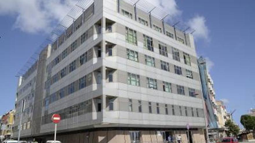 Edifico de la Consejería de Educación en Las Palmas de Gran Canaria.