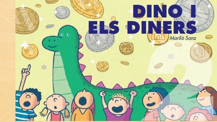 Portada del libro 'Dino i els diners'