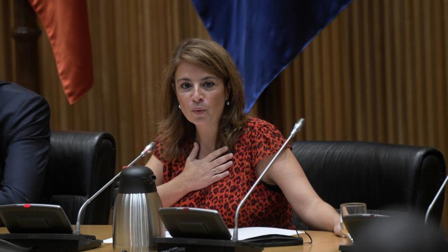 Archivo - La vicesecretaria general del PSOE y exportavoz del Grupo Parlamentario Socialista en el Congreso, Adriana Lastra