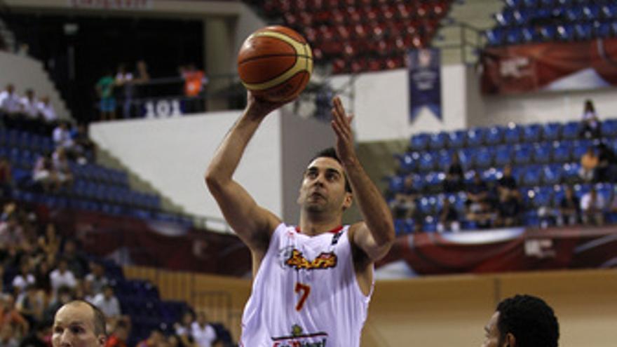 Juan Carlos Navarro, durante el partido. (EUROPA PRESS)