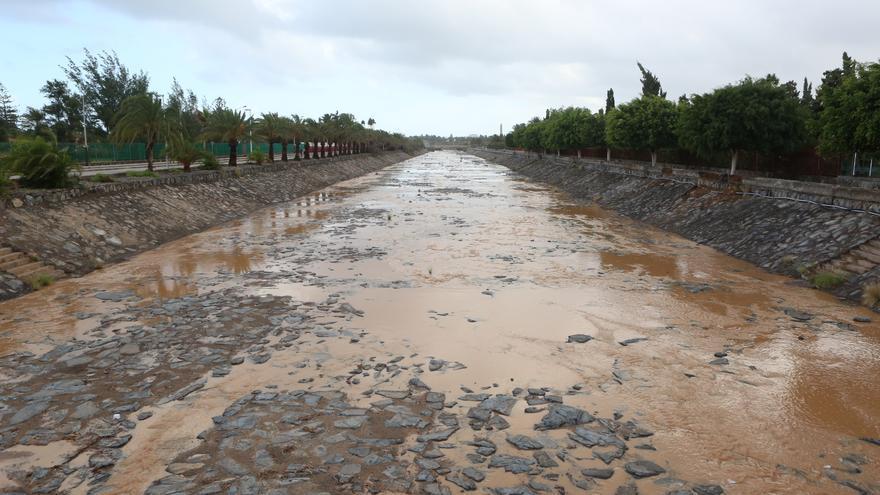 Temporal de viento y lluvia en el sur de Gran Canaria (A. RAMOS)