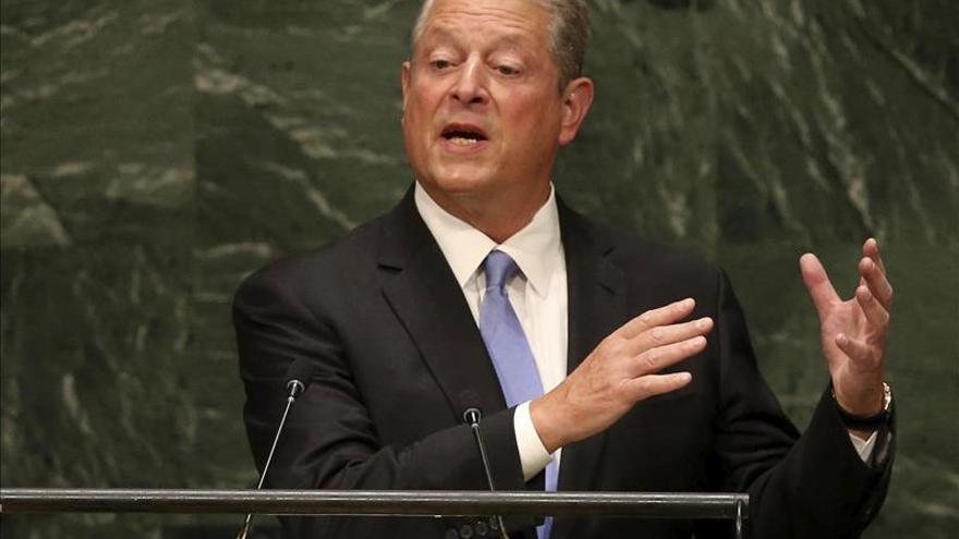 Al Gore confirmó su participación en la COP20 en diciembre próximo en Lima