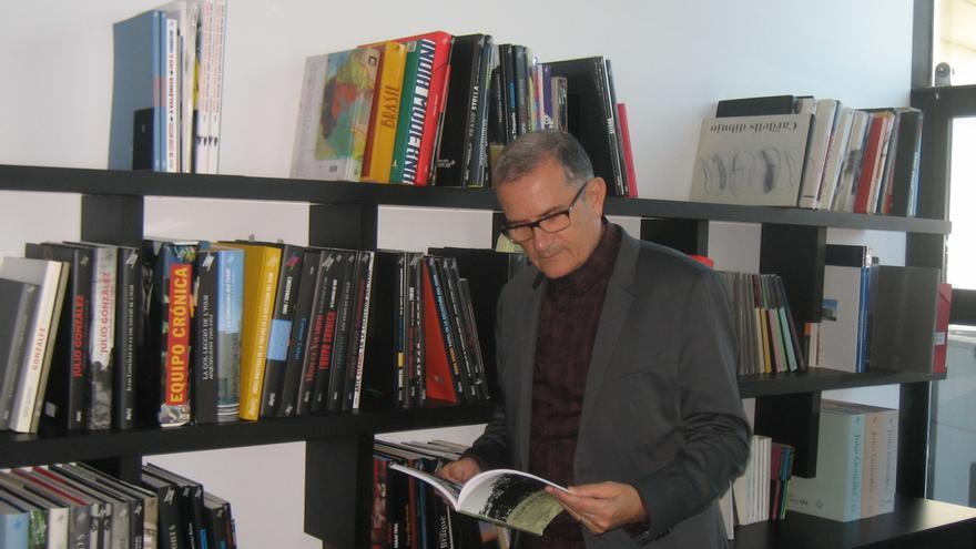El director del IVAM, José Miguel García Cortés