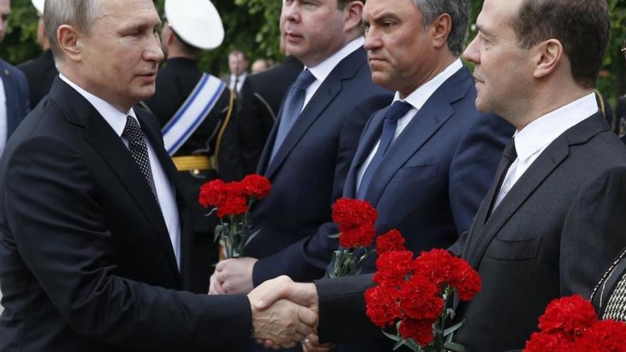 El presidente del Parlamento ruso espera que Putin se presente a la reelección