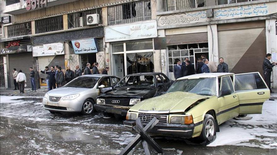 Ocho miembros de los servicios secretos sirios mueren en un atentado, según una ONG local